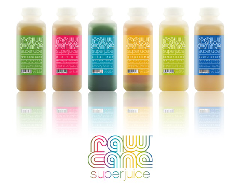 Raw Cane SuperJuice line -med