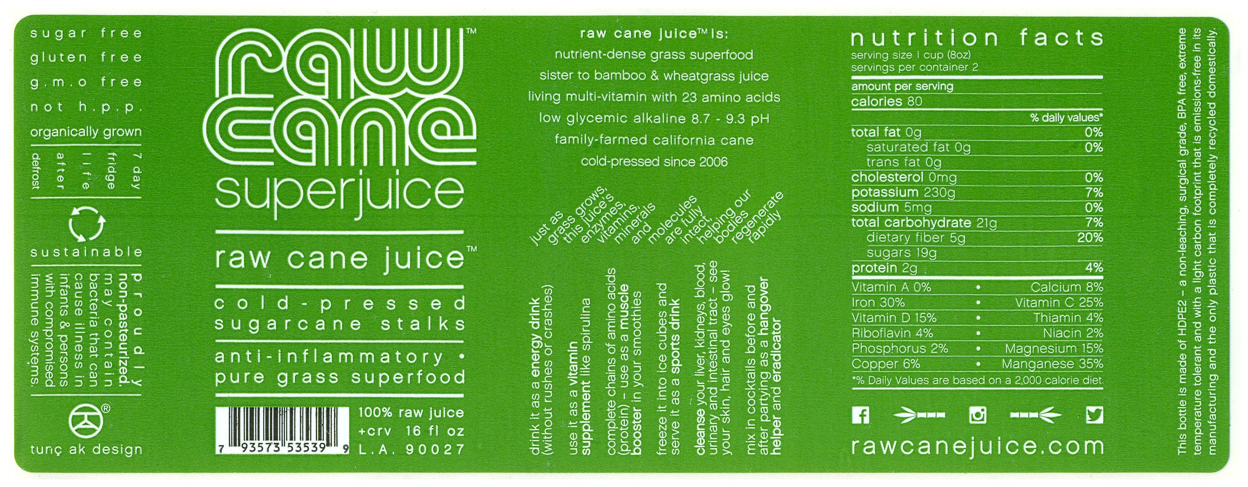 juicing information It's also worthwhile to learn more about the nutritional information behind juicing if you're interested in doing a juice fast about veggie juice.